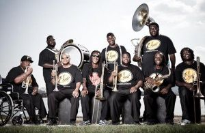 The Hot 8 Brass Band @ Meeting House Square Dublin