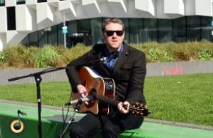 Fiach Moriarty plays two acoustic tunes for us