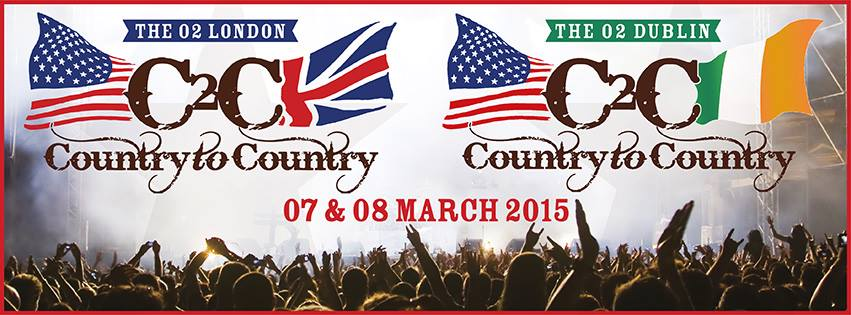 Country to Country 2015 Stage Times