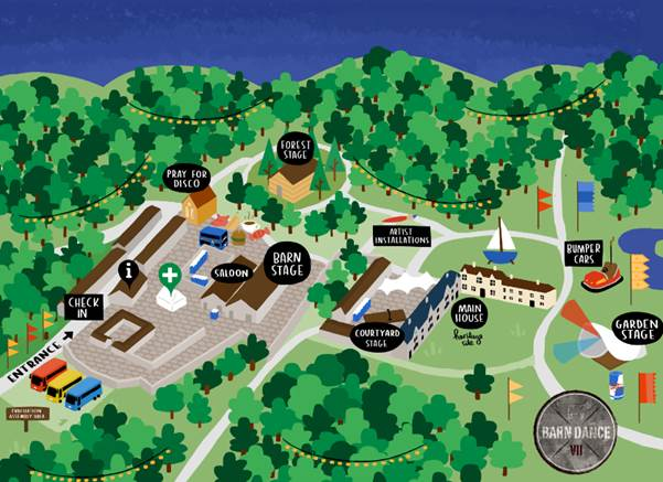 barn-dance-festival-lineup-stage-times-site-map