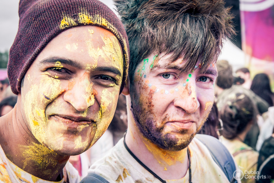 Holi One Colour Festival, Dublin 2014 - Photos