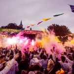 Holi One Colour Festival, Dublin 2014