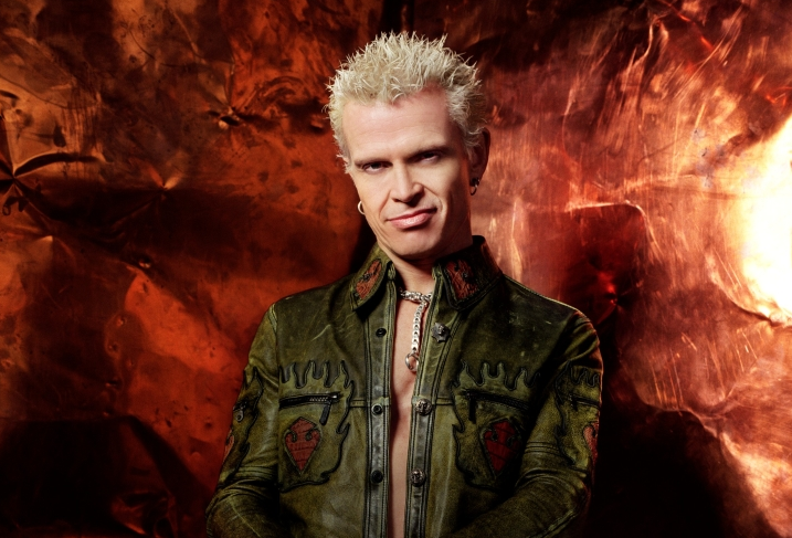 Billy Idol, Vicar Street, 7 November 2014
