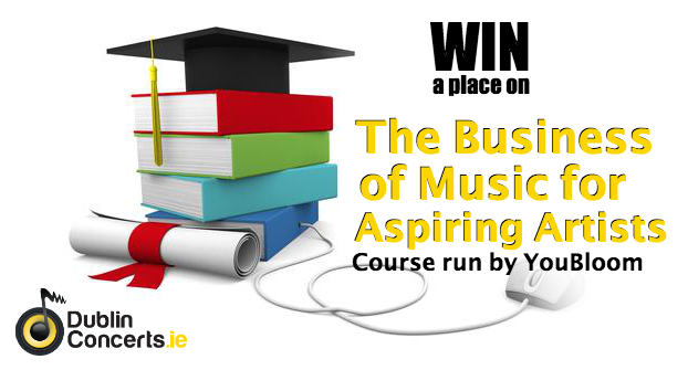 Win a place on 'The Business of Music for Aspiring Artists' Course
