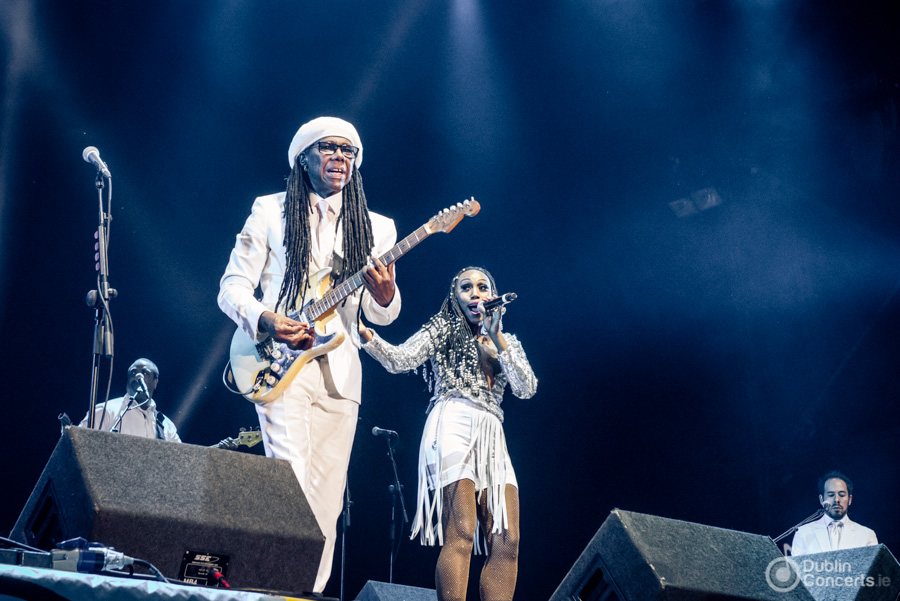 Chic feat Nile Rodgers Iveagh Gardens Live at the Marquee 2015