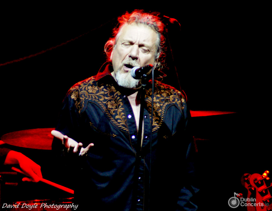 Robert Plant Olympia Theatre Review Photos
