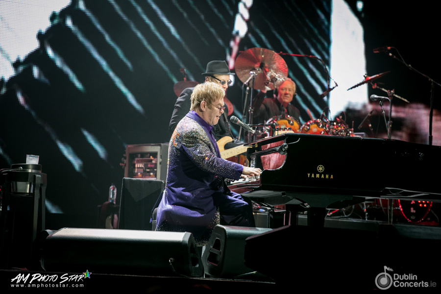 Elton John 3Arena Dublin Review Photos