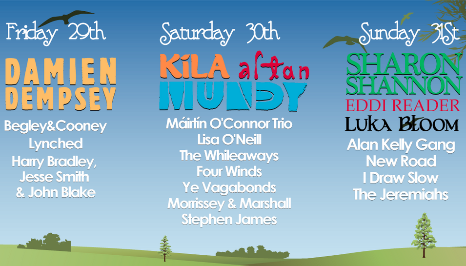 Salmon Leap Festival 2015 free tickets