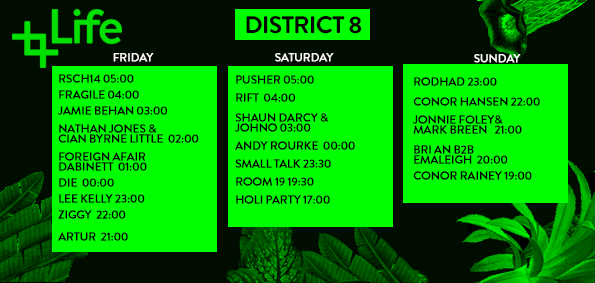 Life Festival 2015 stage times