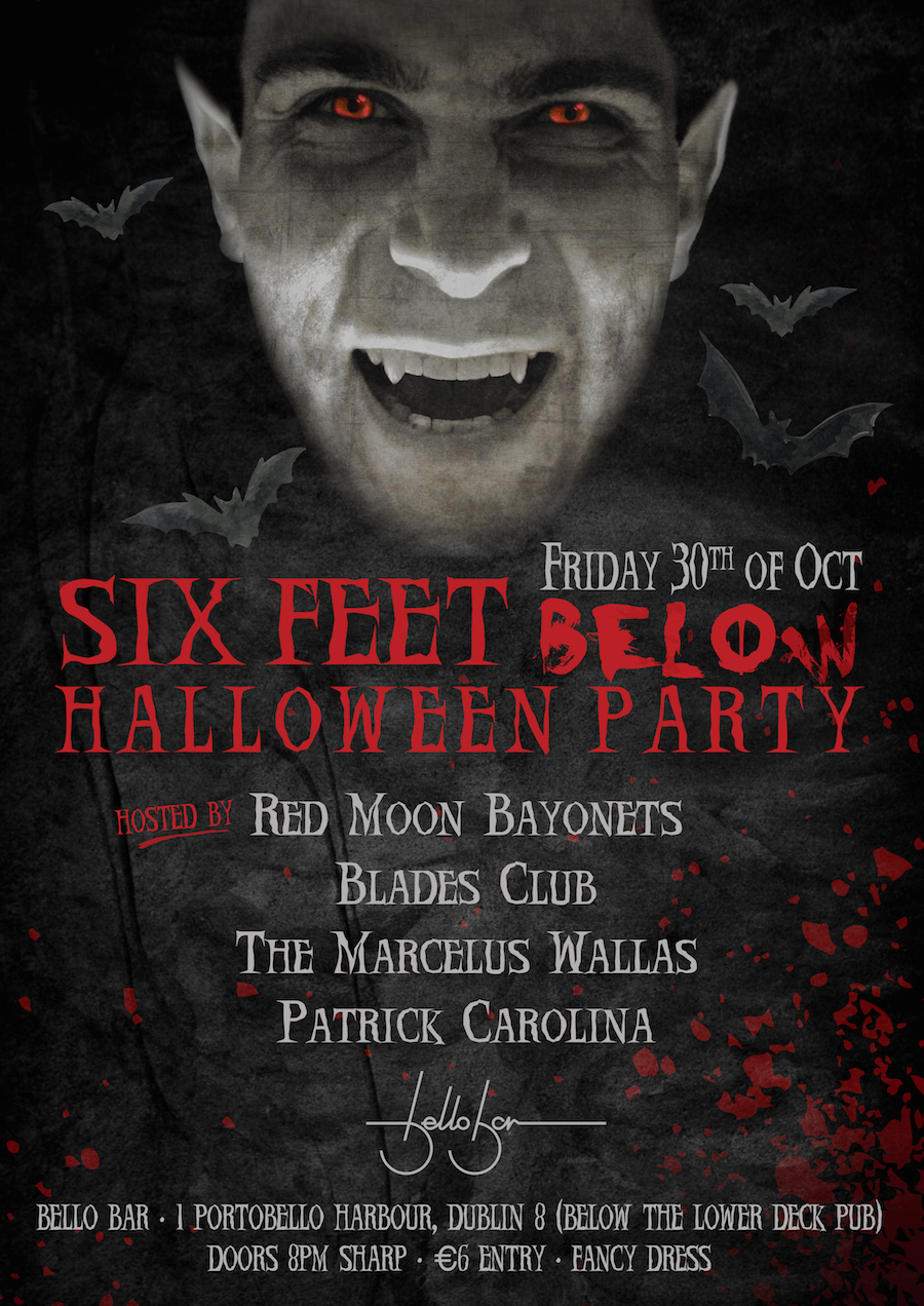 Halloween party at Bello Bar
