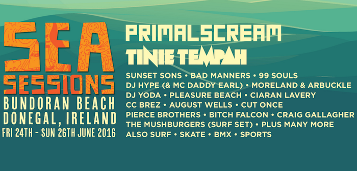 Line-up Sea Sessions 2016
