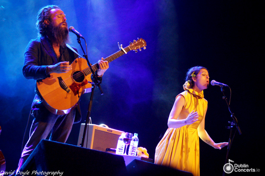 Sam Beam & Jesca Hoop At The Olympia Theatre - Review & Photos