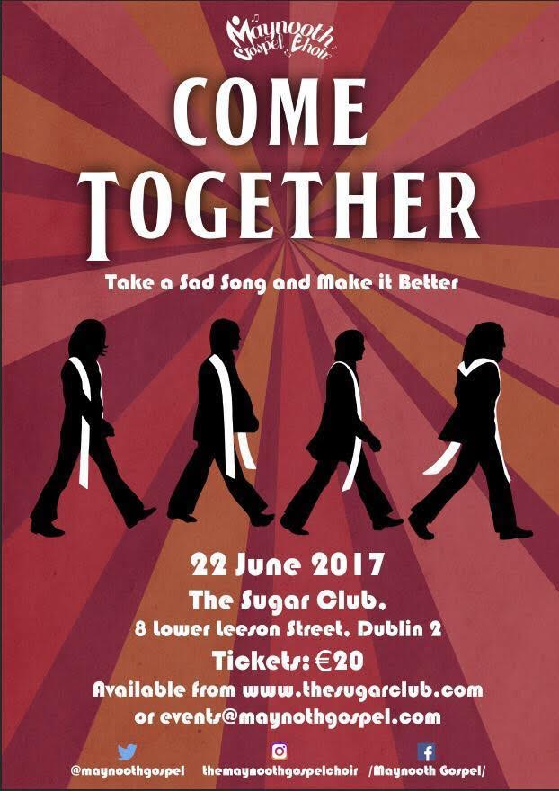 Beatles themed concertincluding all your favourite Beatles songs with a Gospel twist