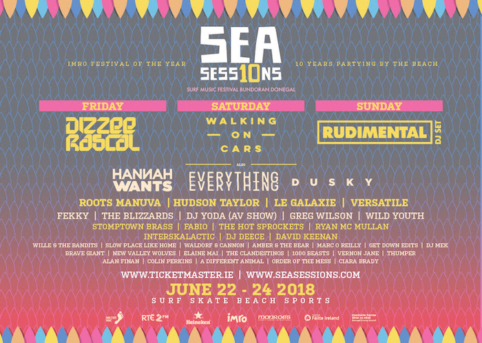 Sea Sessions 2018 Lineup