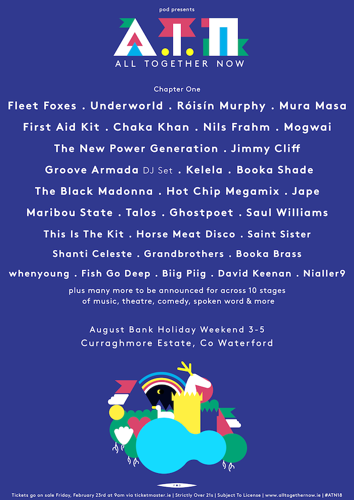 All Together Now 2018 Lineup