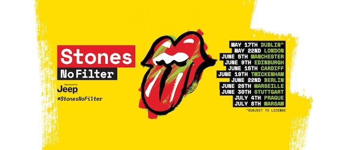 The Rolling Stones @ Croke Park 17 May 2018